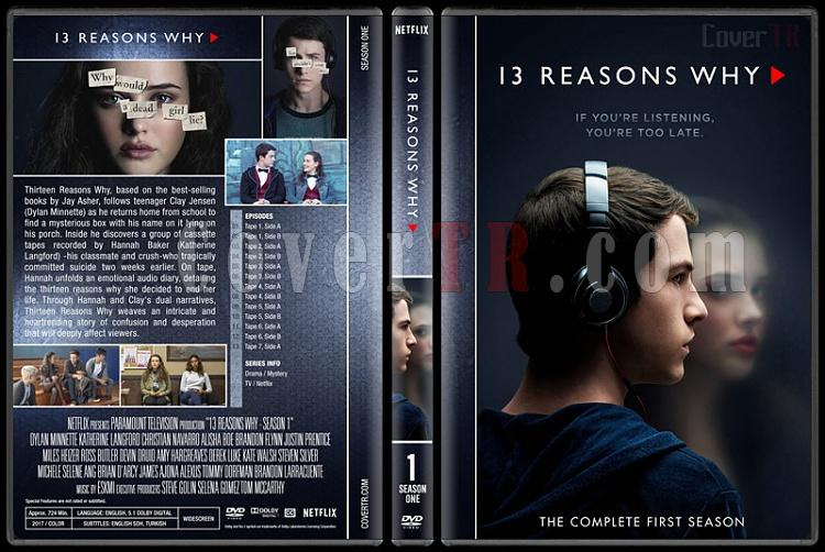 13 Reasons Why (Season 1-2) - Custom Dvd Cover Box Set - English [2017-2018]-1jpg