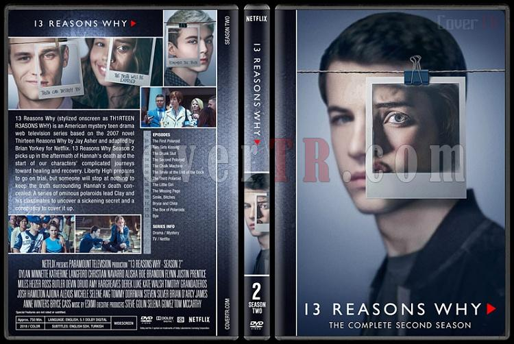 13 Reasons Why (Season 1-2) - Custom Dvd Cover Box Set - English [2017-2018]-2jpg