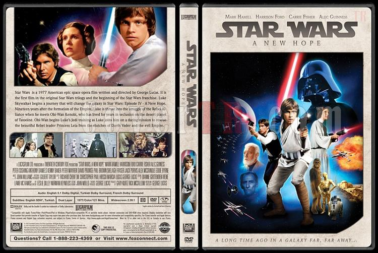 Star Wars Collection - Custom Dvd Cover Set - English [1977-2018]-1jpg