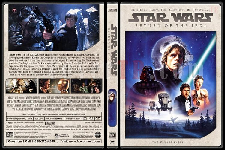 Star Wars Collection - Custom Dvd Cover Set - English [1977-2018]-3jpg