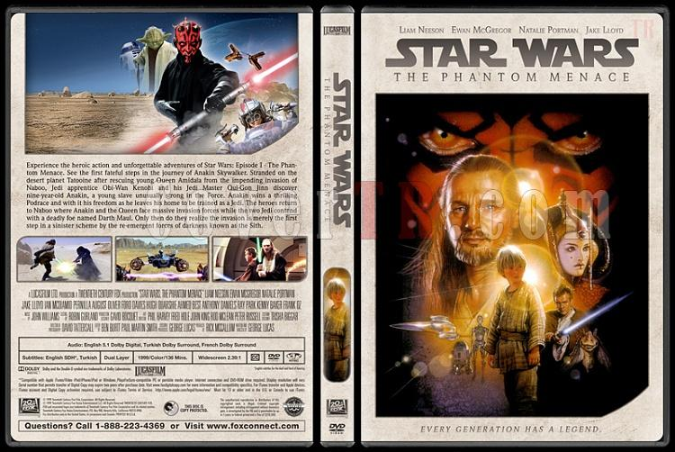 Star Wars Collection - Custom Dvd Cover Set - English [1977-2018]-4jpg