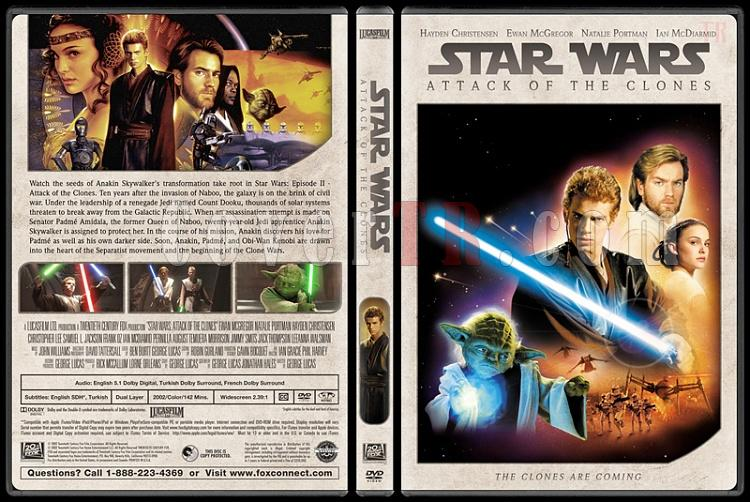 Star Wars Collection - Custom Dvd Cover Set - English [1977-2018]-5jpg