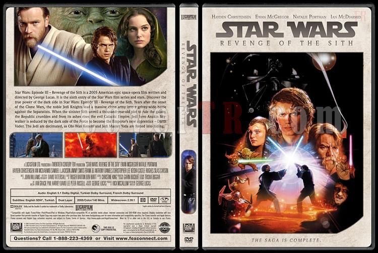 Star Wars Collection - Custom Dvd Cover Set - English [1977-2018]-6jpg