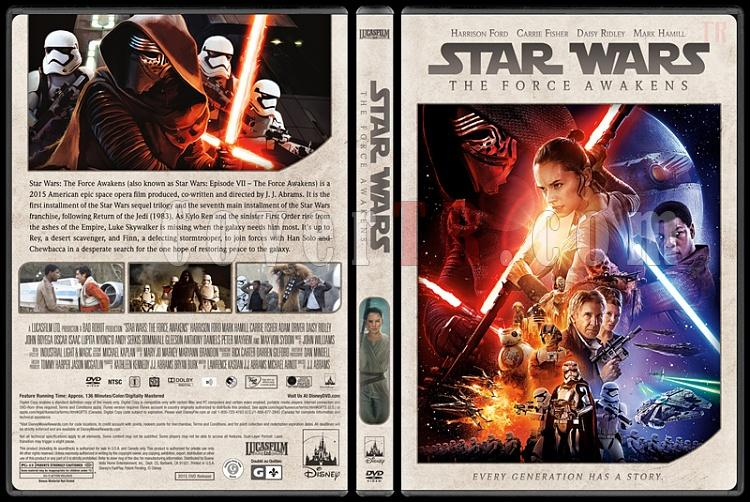 Star Wars Collection - Custom Dvd Cover Set - English [1977-2018]-7jpg