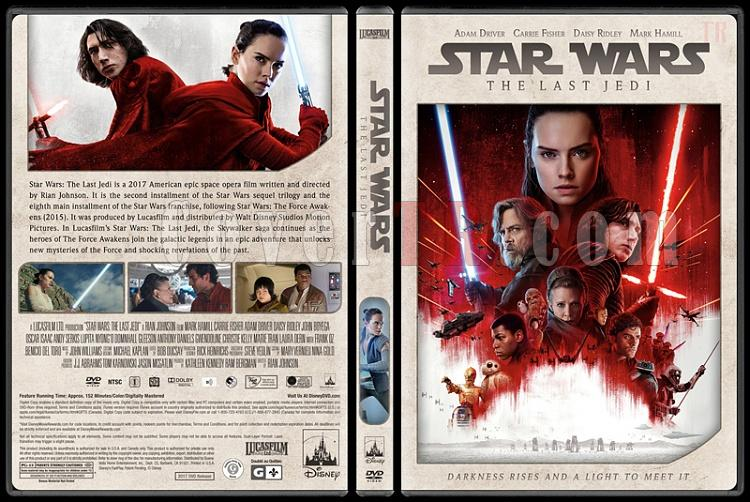 Star Wars Collection - Custom Dvd Cover Set - English [1977-2018]-9jpg