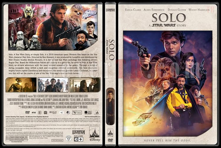 Star Wars Collection - Custom Dvd Cover Set - English [1977-2018]-10jpg