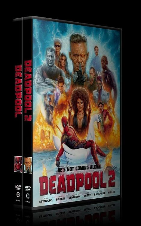 Deadpool Collection - Custom Dvd Cover Set - English [2016-2018]-0jpg