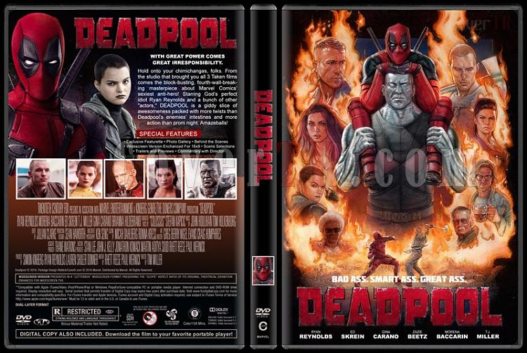 Deadpool Collection - Custom Dvd Cover Set - English [2016-2018]-01jpg