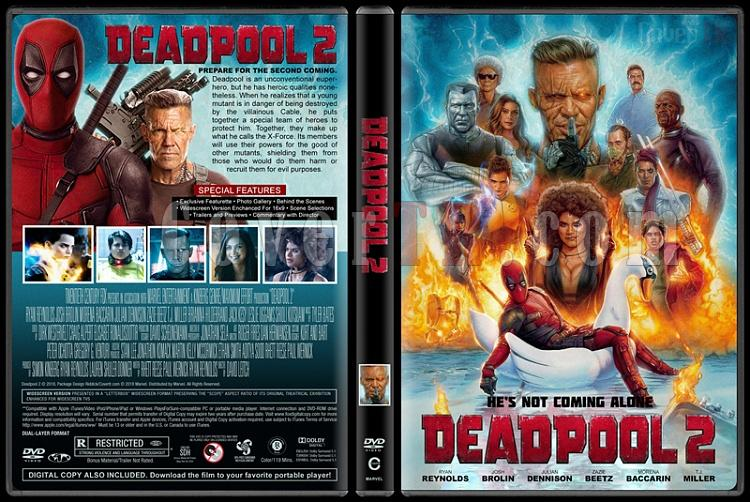 Deadpool Collection - Custom Dvd Cover Set - English [2016-2018]-02jpg