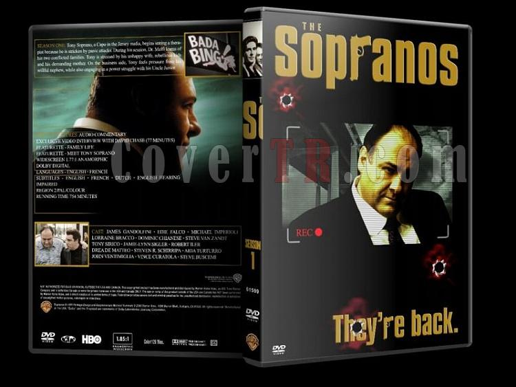 The Sopranos (Season 1-6) - Custom Dvd Cover Set - English [1999-2007]-sopranos-season-1-dvd-coverjpg