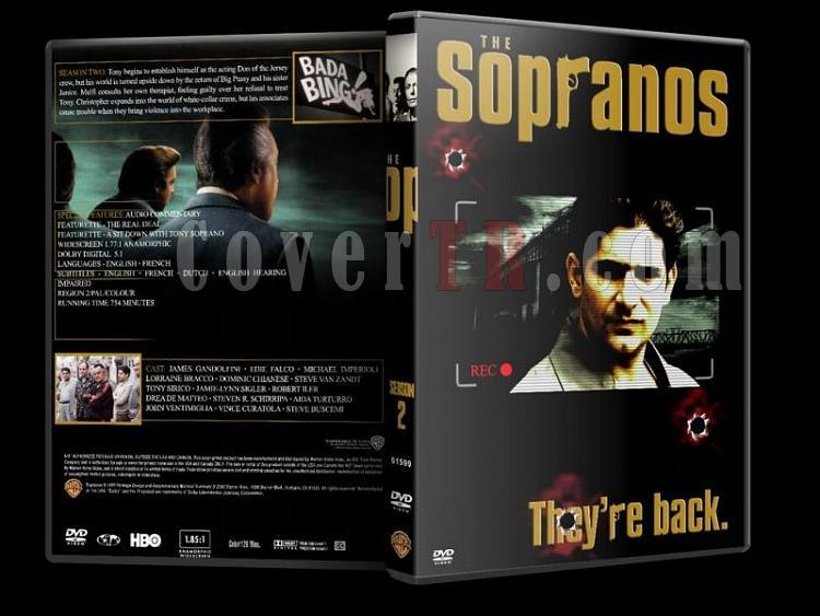 The Sopranos (Season 1-6) - Custom Dvd Cover Set - English [1999-2007]-sopranos-season-2-dvd-coverjpg