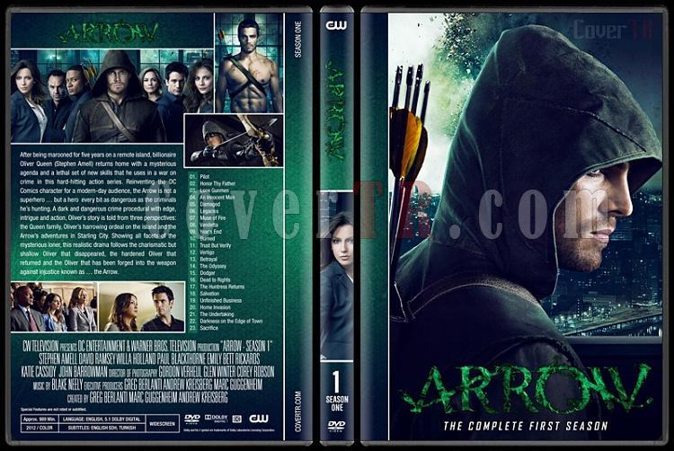 Arrow (Seasons 1-6) - Custom Dvd Cover Set - English [2012-?]-01jpg
