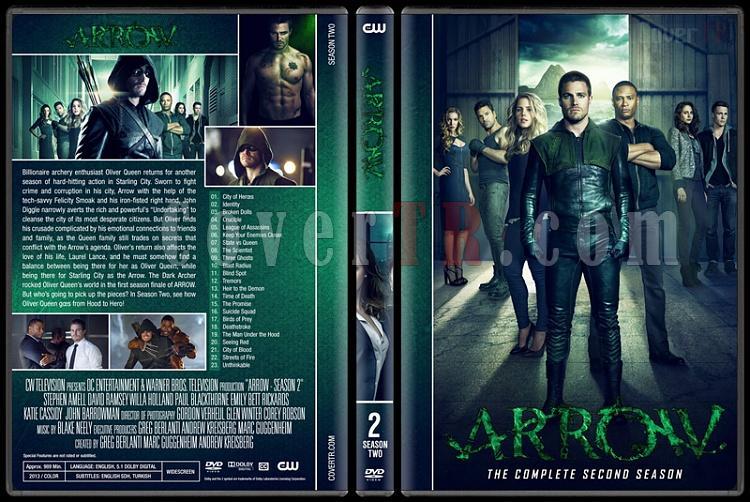 Arrow (Seasons 1-6) - Custom Dvd Cover Set - English [2012-?]-02jpg