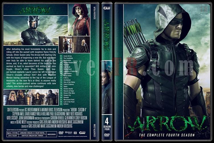 Arrow (Seasons 1-6) - Custom Dvd Cover Set - English [2012-?]-04jpg
