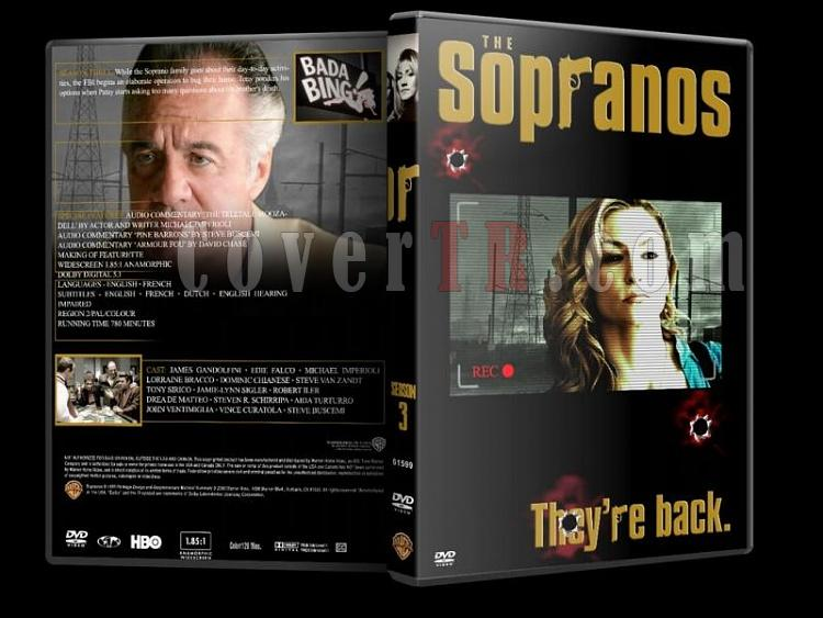 The Sopranos (Season 1-6) - Custom Dvd Cover Set - English [1999-2007]-sopranos-season-3-dvd-coverjpg