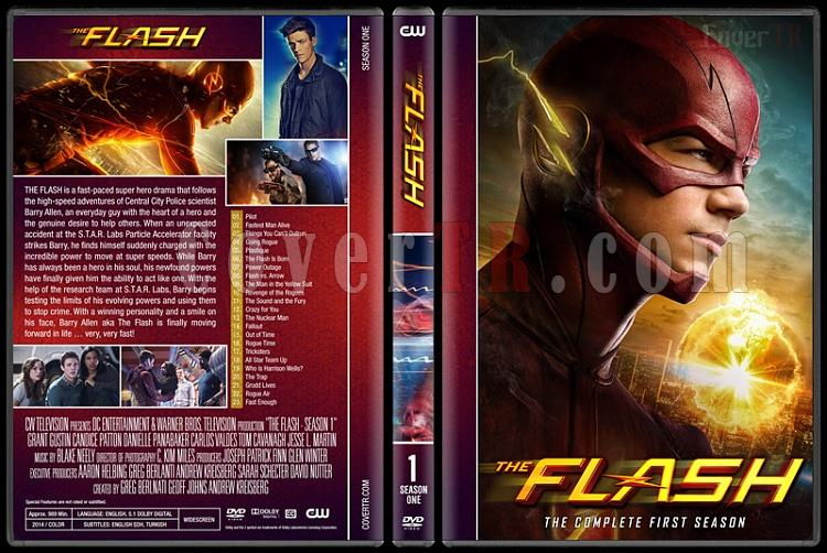 The Flash (Seasons 1-4) - Custom Dvd Cover Set - English [2014-?]-01jpg