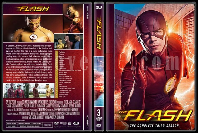 The Flash (Seasons 1-4) - Custom Dvd Cover Set - English [2014-?]-03jpg