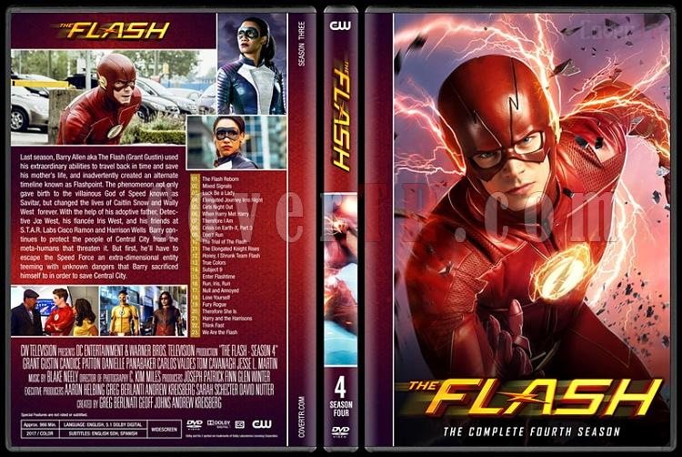 The Flash (Seasons 1-4) - Custom Dvd Cover Set - English [2014-?]-04jpg