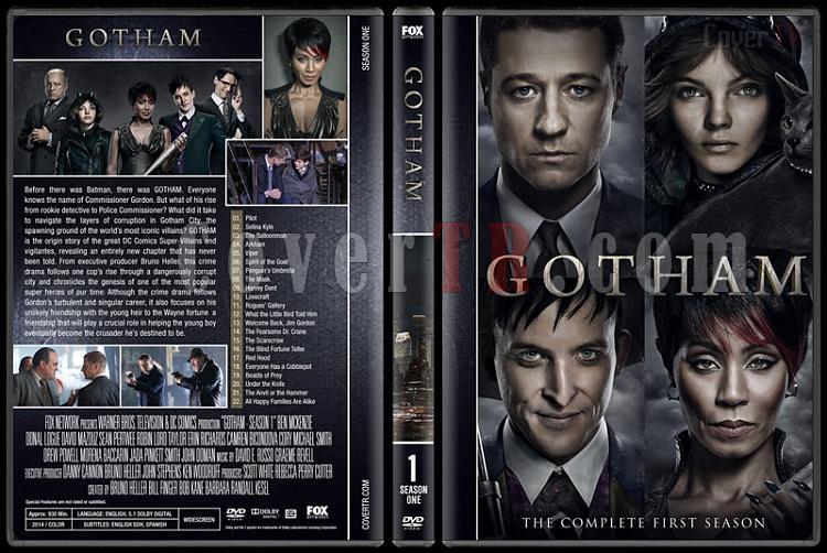 Gotham (Season 1-4) - Custom Dvd Cover Set - English [2016-?]-01jpg