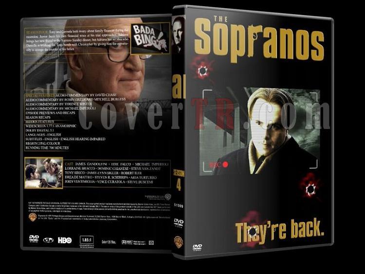 The Sopranos (Season 1-6) - Custom Dvd Cover Set - English