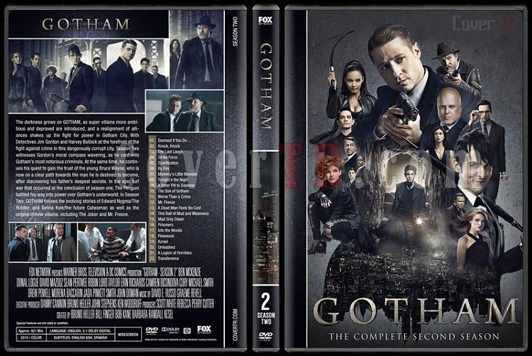 Gotham (Season 1-4) - Custom Dvd Cover Set - English [2016-?]-02jpg