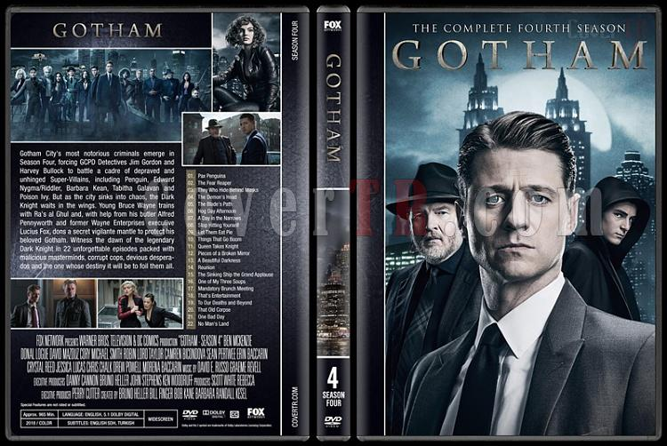 Gotham (Season 1-4) - Custom Dvd Cover Set - English [2016-?]-04jpg