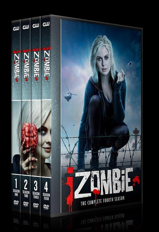 iZombie (Seasons 1-4) - Custom Dvd Cover Set - English [2015-?]-0jpg