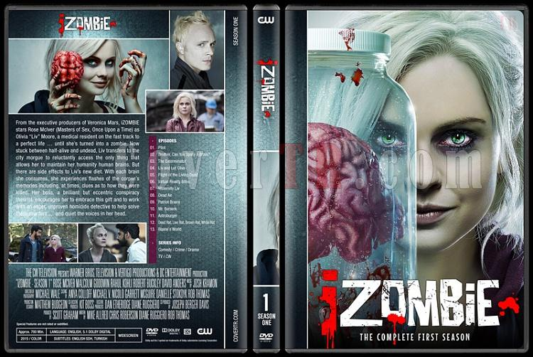 iZombie (Seasons 1-4) - Custom Dvd Cover Set - English [2015-?]-01jpg