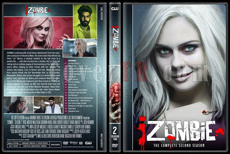 iZombie (Seasons 1-4) - Custom Dvd Cover Set - English [2015-?]-02jpg