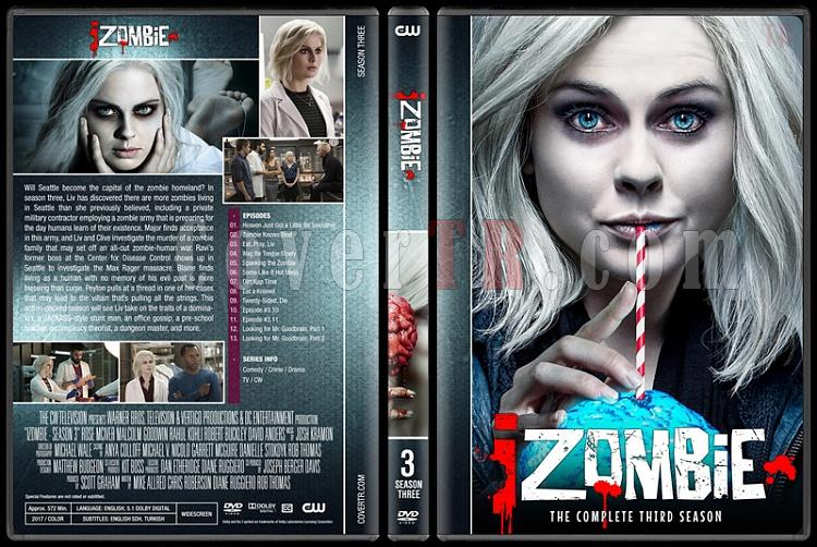 iZombie (Seasons 1-4) - Custom Dvd Cover Set - English [2015-?]-03jpg
