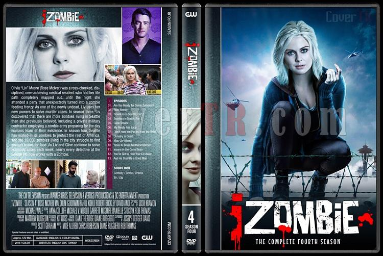 iZombie (Seasons 1-4) - Custom Dvd Cover Set - English [2015-?]-04jpg