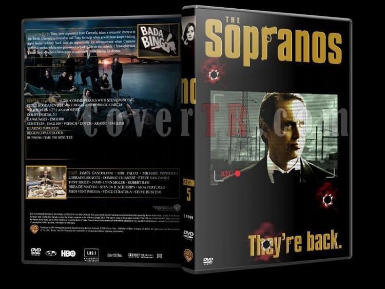 The Sopranos (Season 1-6) - Custom Dvd Cover Set - English [1999-2007]-sopranos-season-5-dvd-coverjpg