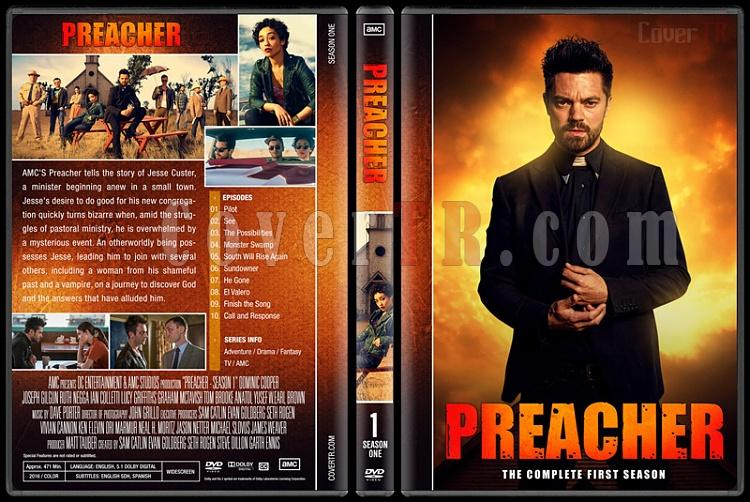 Preacher (Season 1-3) - Custom Dvd Cover Set - English [2016-?]-01jpg