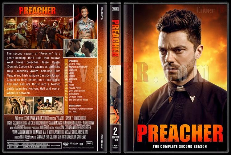 Preacher (Season 1-3) - Custom Dvd Cover Set - English [2016-?]-02jpg