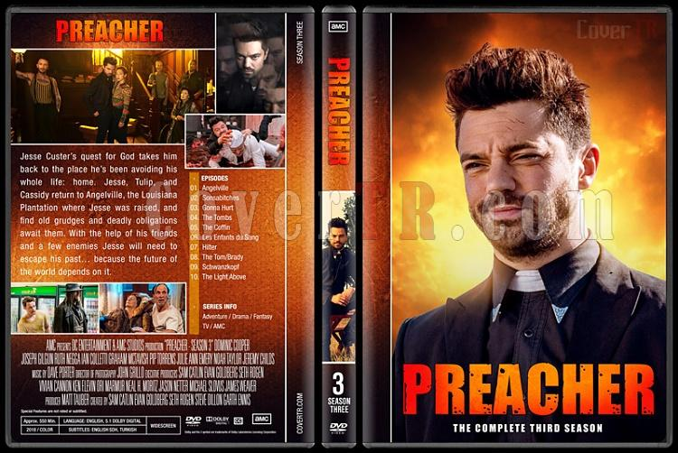 Preacher (Season 1-3) - Custom Dvd Cover Set - English [2016-?]-03jpg