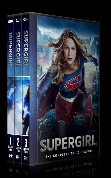 Supergirl (Season 1-3) - Custom Dvd Cover Set - English [2016-?]-0jpg