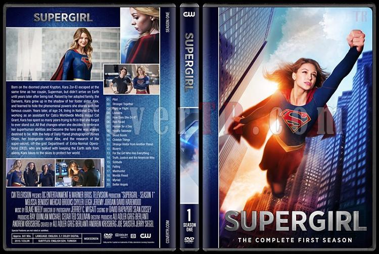 Supergirl (Season 1-3) - Custom Dvd Cover Set - English [2016-?]-01jpg