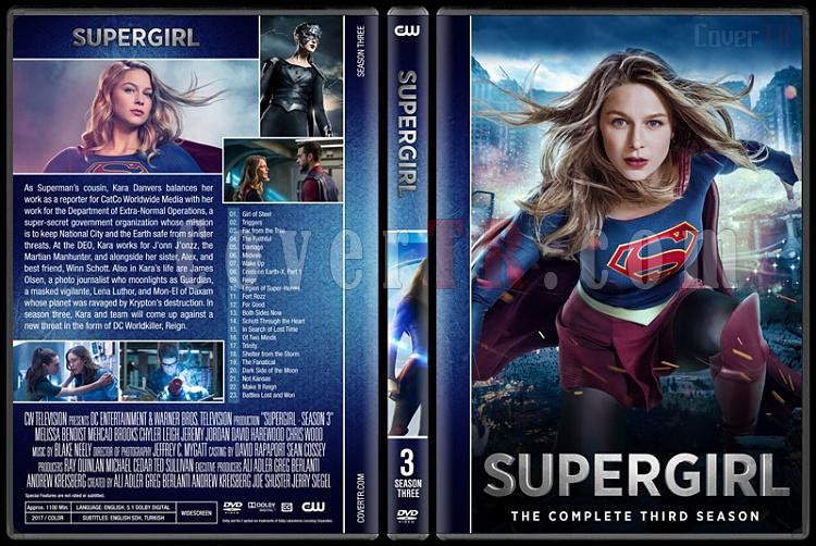 Supergirl (Season 1-3) - Custom Dvd Cover Set - English [2016-?]-03jpg