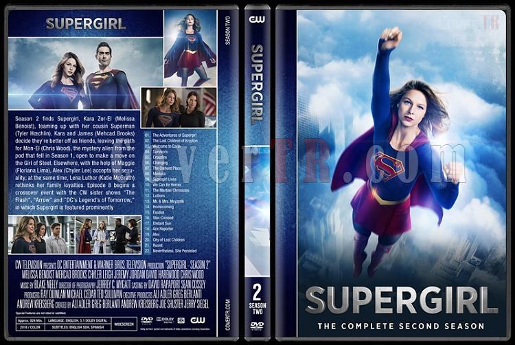 Supergirl (Season 1-3) - Custom Dvd Cover Set - English [2016-?]-02jpg