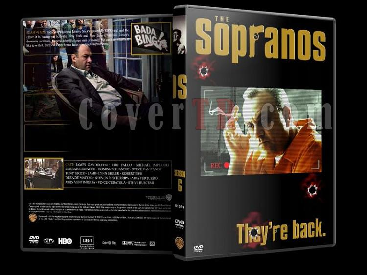 The Sopranos (Season 1-6) - Custom Dvd Cover Set - English [1999-2007]-sopranos-season-6-dvd-coverjpg
