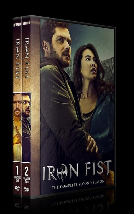 Iron Fist (Season 1-2) - Custom Dvd Cover Set - English [2017-?]-0jpg