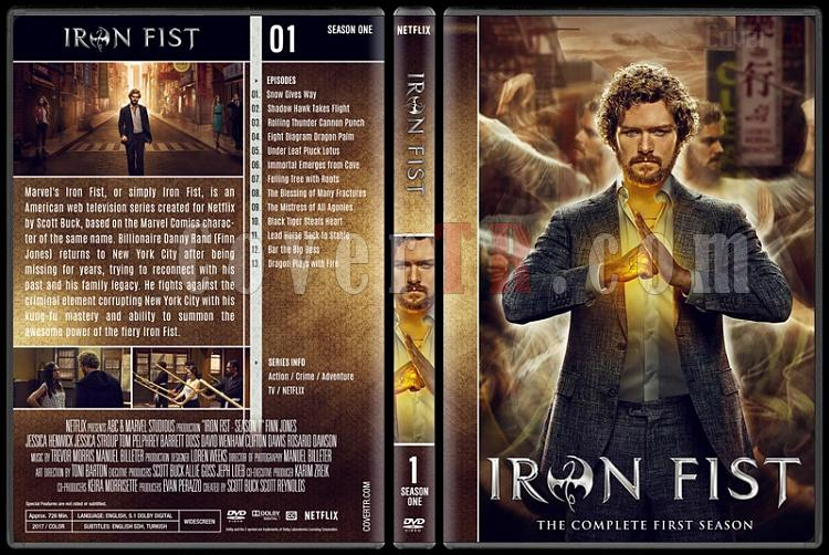 Iron Fist (Season 1-2) - Custom Dvd Cover Set - English [2017-?]-01jpg