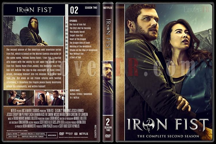 Iron Fist (Season 1-2) - Custom Dvd Cover Set - English [2017-?]-02jpg