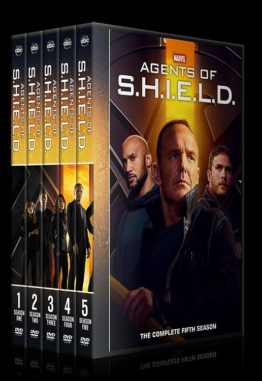 Agents of S.H.I.E.L.D. (Season 1-5) - Custom Dvd Cover Set - English [2013-?]-0jpg