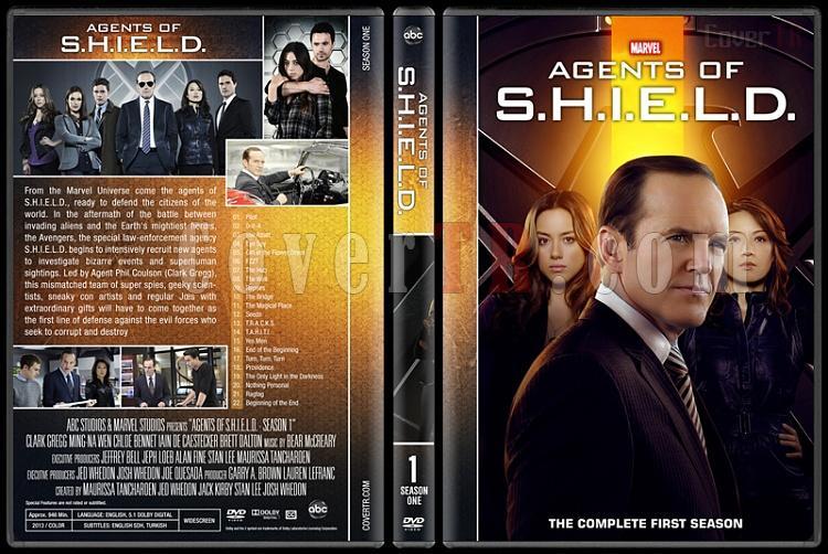 Agents of S.H.I.E.L.D. (Season 1-5) - Custom Dvd Cover Set - English [2013-?]-1jpg