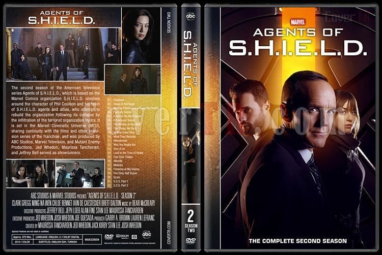 Agents of S.H.I.E.L.D. (Season 1-5) - Custom Dvd Cover Set - English [2013-?]-2jpg