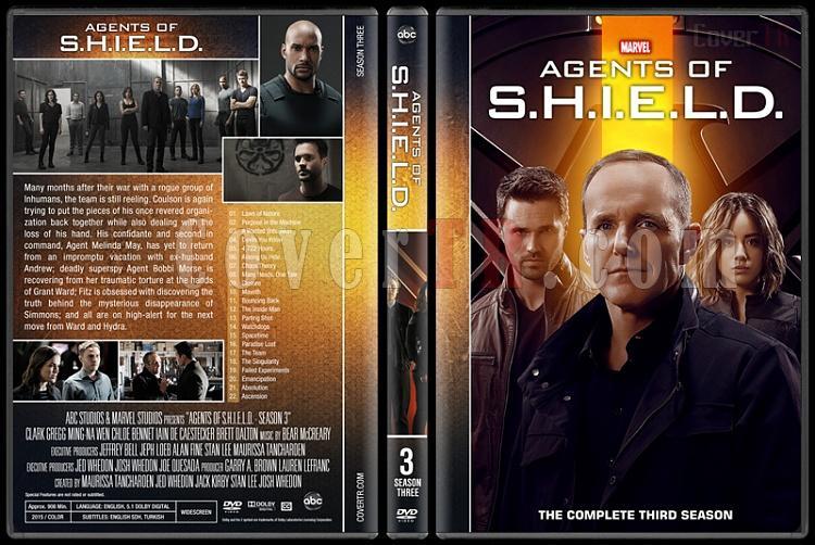 Agents of S.H.I.E.L.D. (Season 1-5) - Custom Dvd Cover Set - English [2013-?]-3jpg