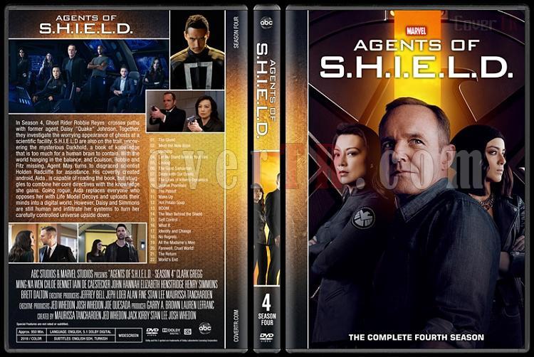 Agents of S.H.I.E.L.D. (Season 1-5) - Custom Dvd Cover Set - English [2013-?]-4jpg