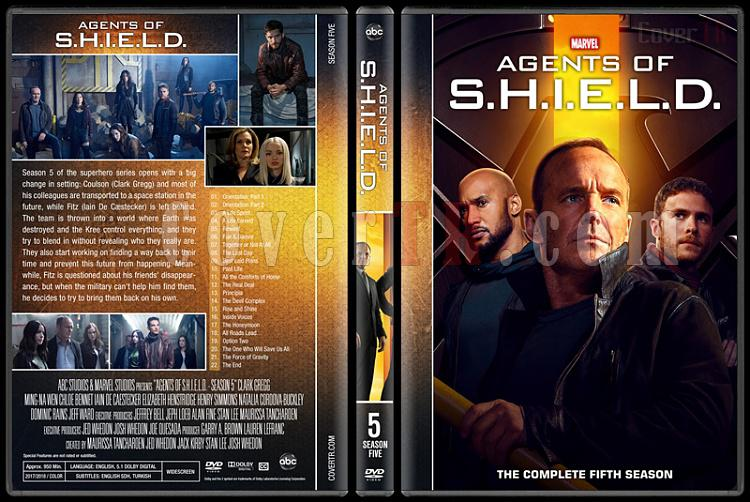 Agents of S.H.I.E.L.D. (Season 1-5) - Custom Dvd Cover Set - English [2013-?]-5jpg