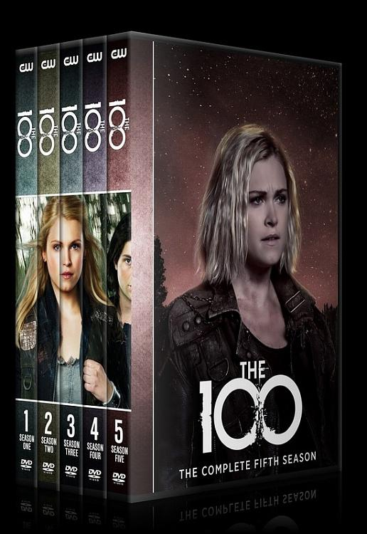The 100 (Seasons 1-5) - Custom Dvd Cover Set - English [2014-?]-0jpg